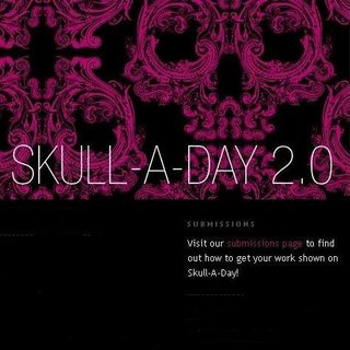 WEBSITE OF THE DAY - skulladay.blogspot.com