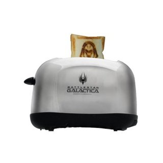 Battlestar Galactica toaster launches