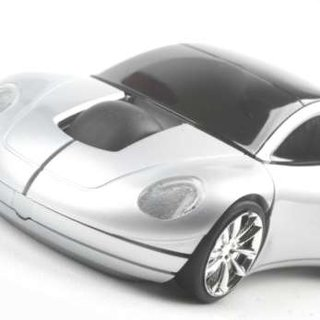 Car-shaped mouse launches