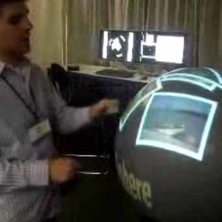 VIDEO: Microsoft Sphere touch display demoed