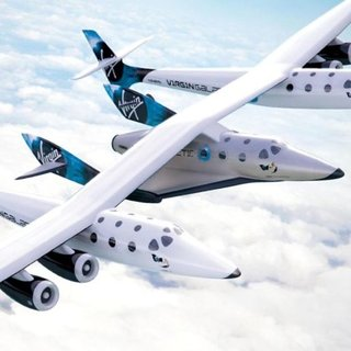 Virgin Galactic carrier craft unveiled