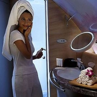 Emirates introduces shower spas for high flyers