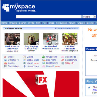 MySpace and The Cloud offering free Wi-Fi