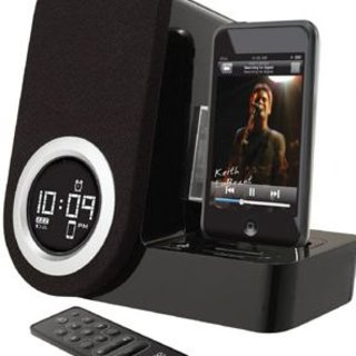 Introducing the iHome rotating alarm clock
