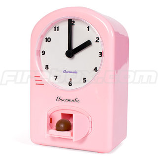Chococlock alarm clock for chocoholics