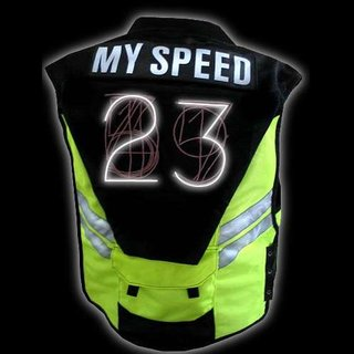 Speed Vest for cyclists shown off