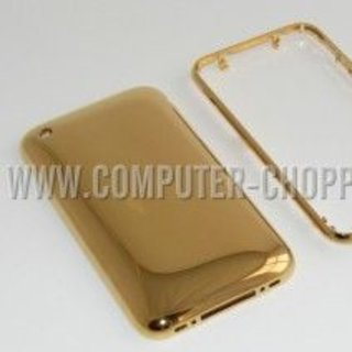 iPhone 3G gets dipped in gold