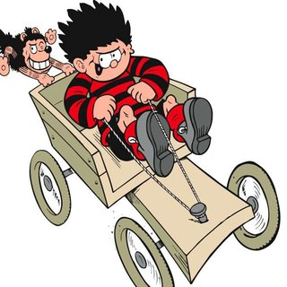 Replica Dennis the Menace go-kart to launch