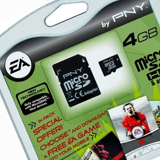 PNY offers free EA mobile game with microSD cards