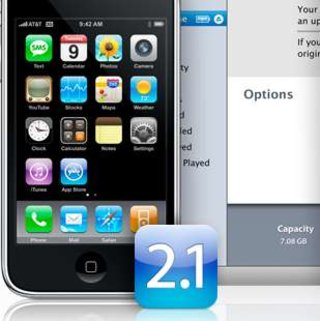 iPhone 2.1 firmware released