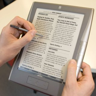 iRex 1000 series digital reader launches