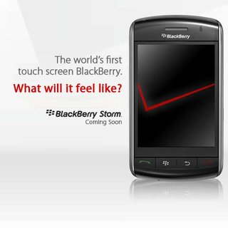 BlackBerry Storm confirmed for UK