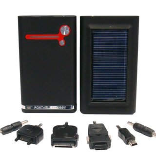 iPower solar charger for portable power