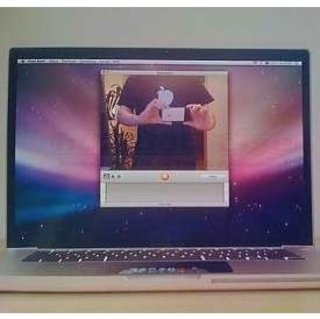 MacBook Pro leaked shot shows LED-equipped trackpad?