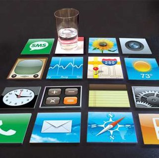 iPhone icons coaster set launches