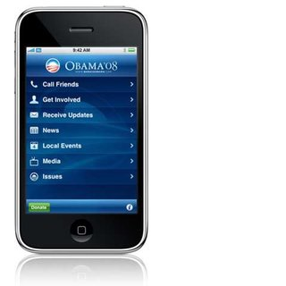 Obama launches iPhone app