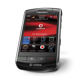 VIDEO: More from Vodafone on the BlackBerry Storm
