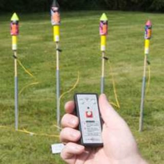 Electronic firework launcher on sale