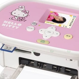 Canon says Hello Kitty with Selphy printer redesign