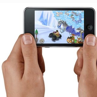 Apple angles iPod touch as games device