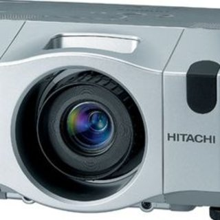 Hitachi  CP-X809J projector aimed at pros