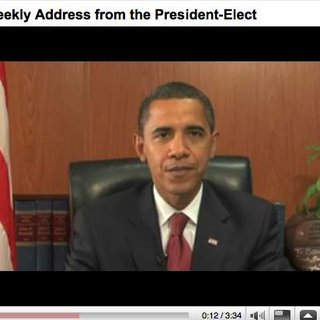 Obama to use YouTube for weekly address