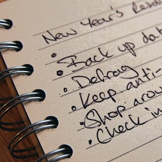 Five New Year tech resolutions