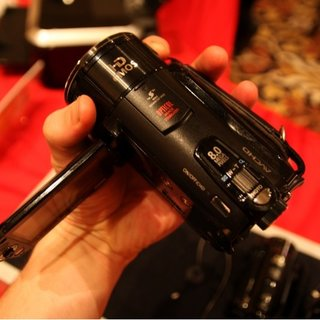 Canon HF S10 camcorder