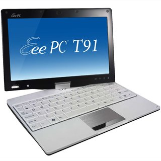 Touchscreen Asus Eee T91 revealed at CES