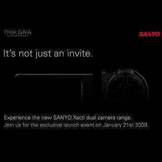 Sanyo teases for new Xacti launch