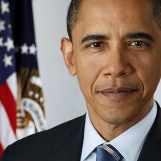 Barack Obama's official portrait snapped with digital camera