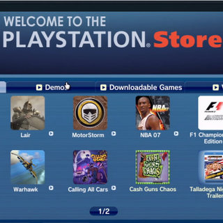 PAL PSN update gets quite a selection