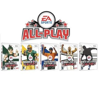 "EA Sports unveils ""All-Play"" line of games"