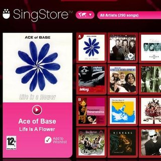 SingStore updated with 18 new English tracks