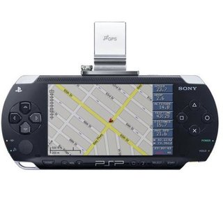 Sony to release games for GPS PSP add-on