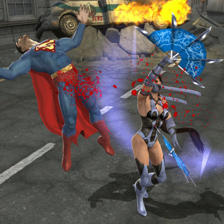 Wonder Woman swoops into Mortal Kombat