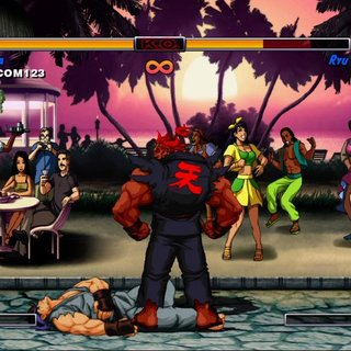Street Fighter album for free on PSN