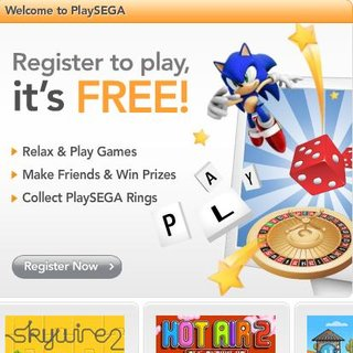 Sega launches casual games website