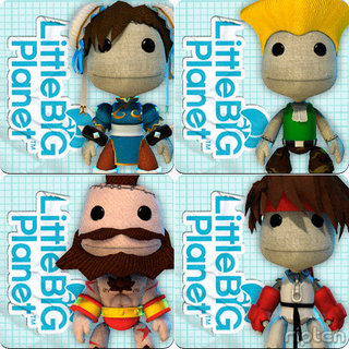 Street Fighter Sackboy costumes coming this Thursday
