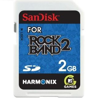 Sandisk launching Rock Band 2-branded SD card