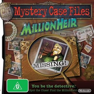 Mystery Case Files: MillionHeir coming to DS