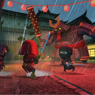 Eidos announces Mini Ninjas game