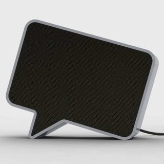 Speech bubble-shaped Speak-er to launch