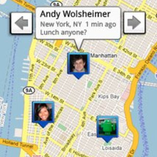 Google Latitude lets you track your friend's movements