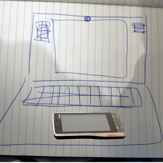 i-mate preview Warrior laptop smartphone concept