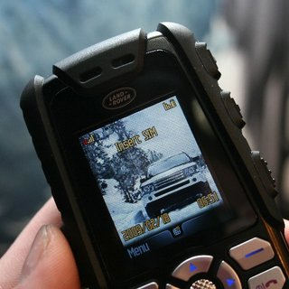 Land Rover S1 mobile phone