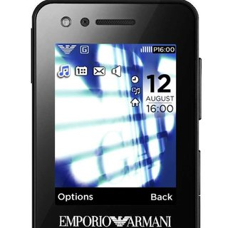Last chance to win a Samsung Armani M7500