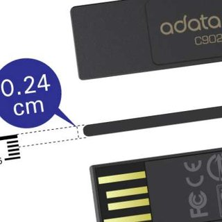 A-Data launches super thin mini flash drive