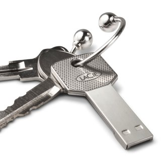 LaCie turns USB drive into a key
