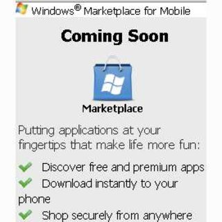 Holding page for Microsoft Marketplace goes live